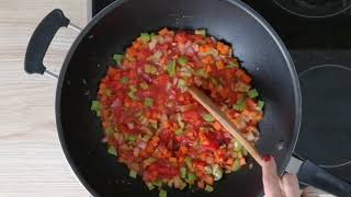 Овощное рагу с фасолью по-итальянски, полный рецепт тут http://bit.ly/2HQnG7c