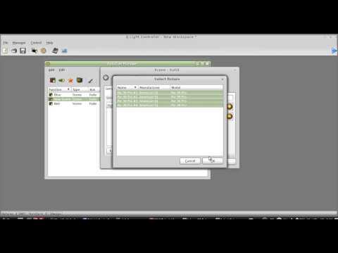 QLC Tutorial 2: Adding Fixtures & Creating Scenes
