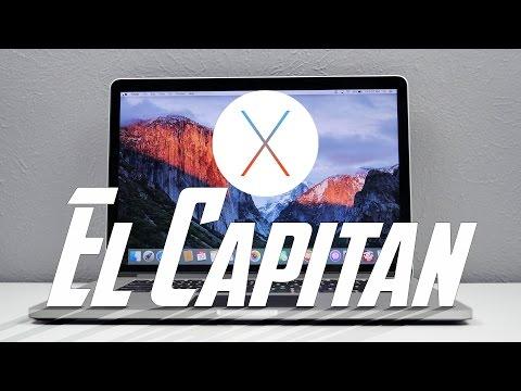 Top Features in OS X El Capitan (Mac)