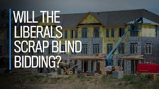 Will The Liberals Scrap Blind Bidding