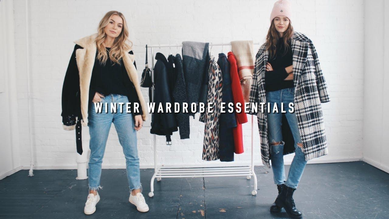 05220da551c2 WINTER WARDROBE ESSENTIALS (Feat. Valeria Lipovetsky) - YouTube
