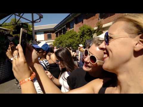 Augmented Reality Art at Sugar Mountain Music Festival by Plattar