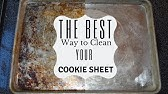 How to clean your baking sheets I Cleaning your cookie sheets