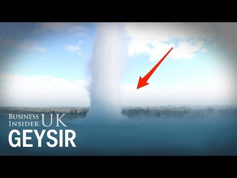 Iceland's 1,000-year-old Strokkur Geysir