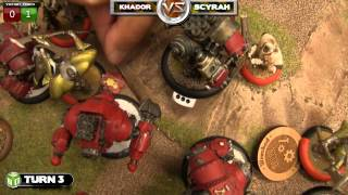 Retribution vs Khador Warmachine Battle Report - Beat Matt Batrep Ep 31