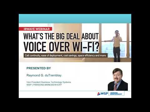 iBwave Webinars: What's the bid deal about voice over Wi-Fi?