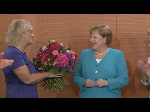 Angela Merkel am 65.: Ein normaler Arbeitstag