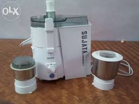 How to assemble sujata juicer.