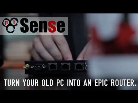 pfSense: How to Turn an Old PC into an Epic Router