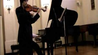 Sonata for Violin and Piano No 1 in G major, op. 78 part 1 (Vivace ma non troppo) Johannes Brahms