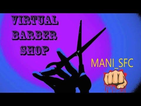 Virtual Barber Shop Hair Cut - 3D Sound (Amazing!!)
