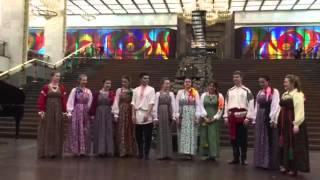 17.04.16 выступление на Поклонной горе  Центральный Музей Великой Отечественной войны