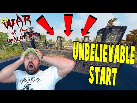 Unbelievable Start | 7 Days To Die War Of...
