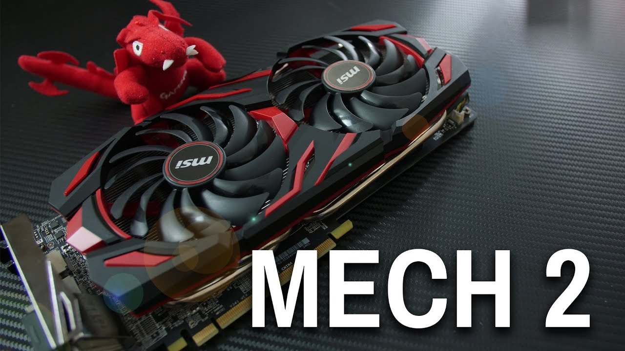 NEW MSI MECH 2 RX580 8GB Review - Result Of GPP