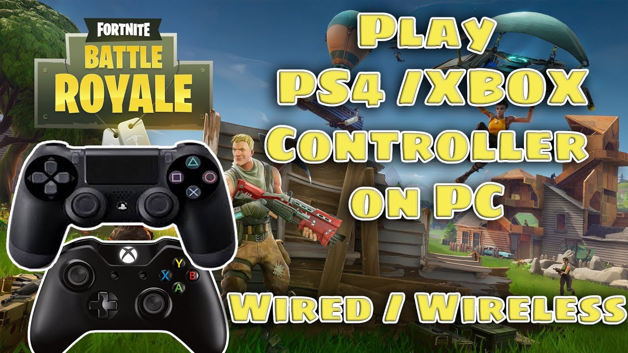 how to connect xbox to pc fortnite
