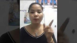 Brincadeiras - Chica khmer juega bigo con amigos |   Mostrando hermoso cuerpo |   Camboya