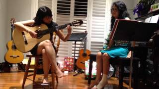 Recuerdos de la Alhambra (Tárrega) - Phan Quỳnh Trâm & Mỹ Lệ Thi