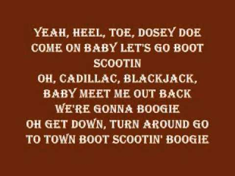 Brooks and Dunn Boot Scootin' Boogie Lyrics