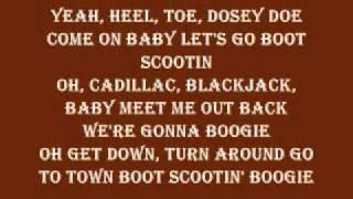 Brooks and Dunn Boot Scootin' Boogie Lyrics