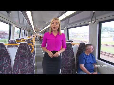 Queensland New Generation Rollingstock - Nine News