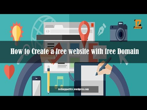 How to Create A Free Website - with Free domain - with - wordpress website developer | Techezza