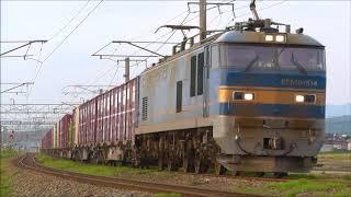 EF510貨物 羽越本線 坂町~平木田間 2018.05.15