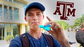 First Day Of College! Texas A&M University