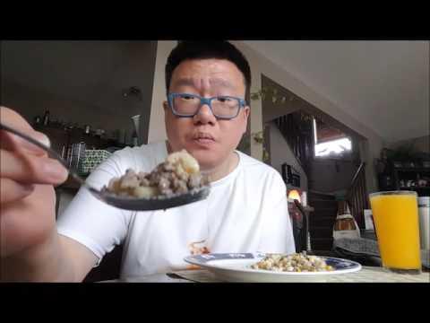 Mukbang (먹방) Eating Show - Ground Beef Mac n Cheese