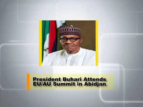 Buhari Attends EU-AU Summit In Abidjan
