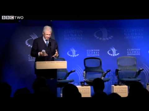 Rebuilding Haiti: Glitz and Glamour at the Clinton Global Initiative - From Haiti's Ashes - BBC Two