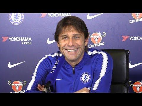 Antonio Conte Full Pre-Match Press Conference - Liverpool v Chelsea - Premier League