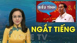 VTV cắt lời Trần Đại Quang kêu gọi biểu tình chống luật an ninh mạng