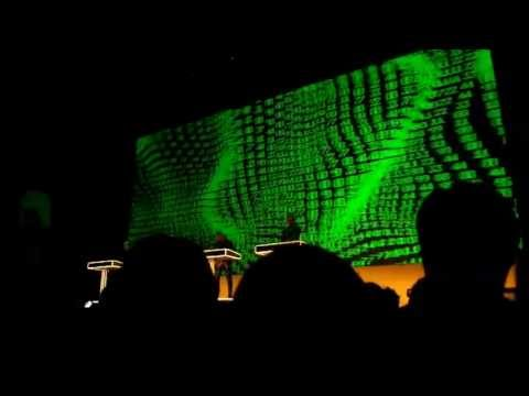 KRAFTWERK - Numbers / Computer World (Live at Namba Hatch, Osaka Japan 18-May-2013)