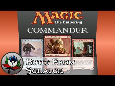 "Mono Red ""Built From Scratch"" Commander 2014 Deck Tech featuring Daretti, Scrap Savant!"