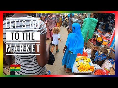 Ketjetia Market / Ghana 🇬🇭 Vlog # 40