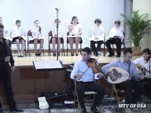 Greek Concert by the Day School William Spiropoulos of Saint Nicholas Church NY part 2 of 5 2013
