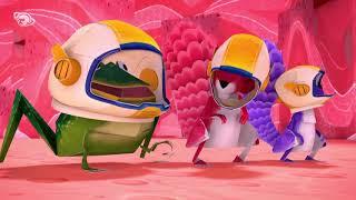 El Zack i el Quack - Desplegable cap a Mart - Dibuixos 100x100 en català