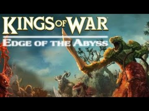 Kings of War campaign ; Edge of the Abyss game 3 , Undead vs Men