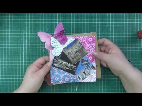 tutorial mini lo ,layout, per l'album dei ricordi