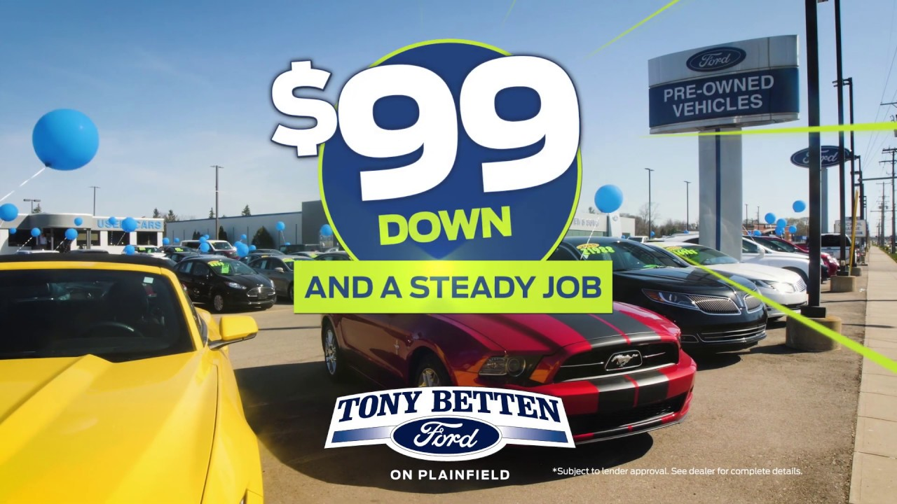 Mive Used Car Clearance Event September 15 Second Commercial Tony Betten Ford