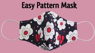 2 IN 1 Easy Pattern Face Mask Face Mask Sewing Tutorial Anyone Can Make This Mask Mascarilla