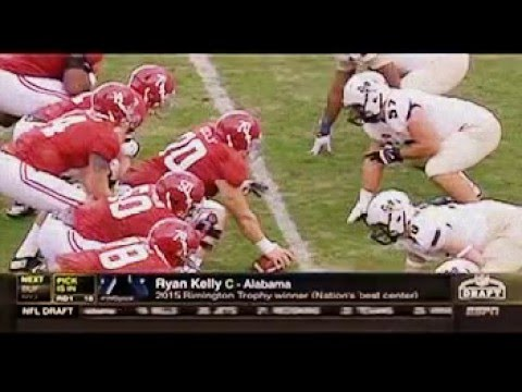 Indianapolis Colts draft Ryan Kelly in the 1st Round of the 2016 NFL Draft