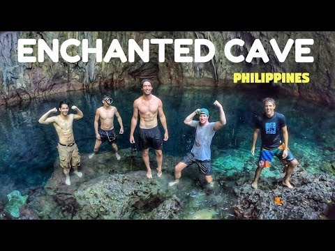 Mysterious ENCHANTED PHILIPPINES Cave River | UNDERRATED Filipino Paradise