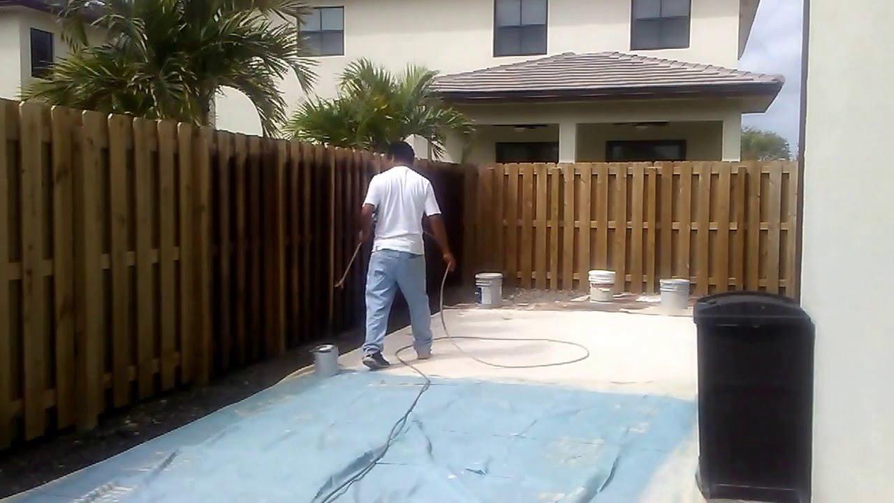 Informacion como pintar una cerca de madera nueva - Cercas de madera ...