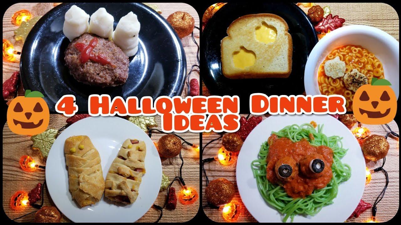 4 Halloween Dinner Ideas Fun Easy Youtube