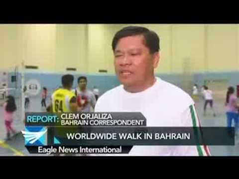 Worldwide Walk in Bahrain - Clem Orjaliza reports