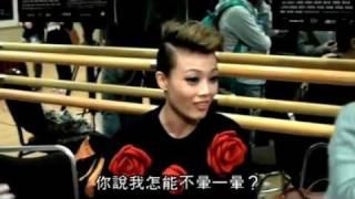 20120215 容祖兒 Joey淚灑Wyman舞台 (明報新聞)