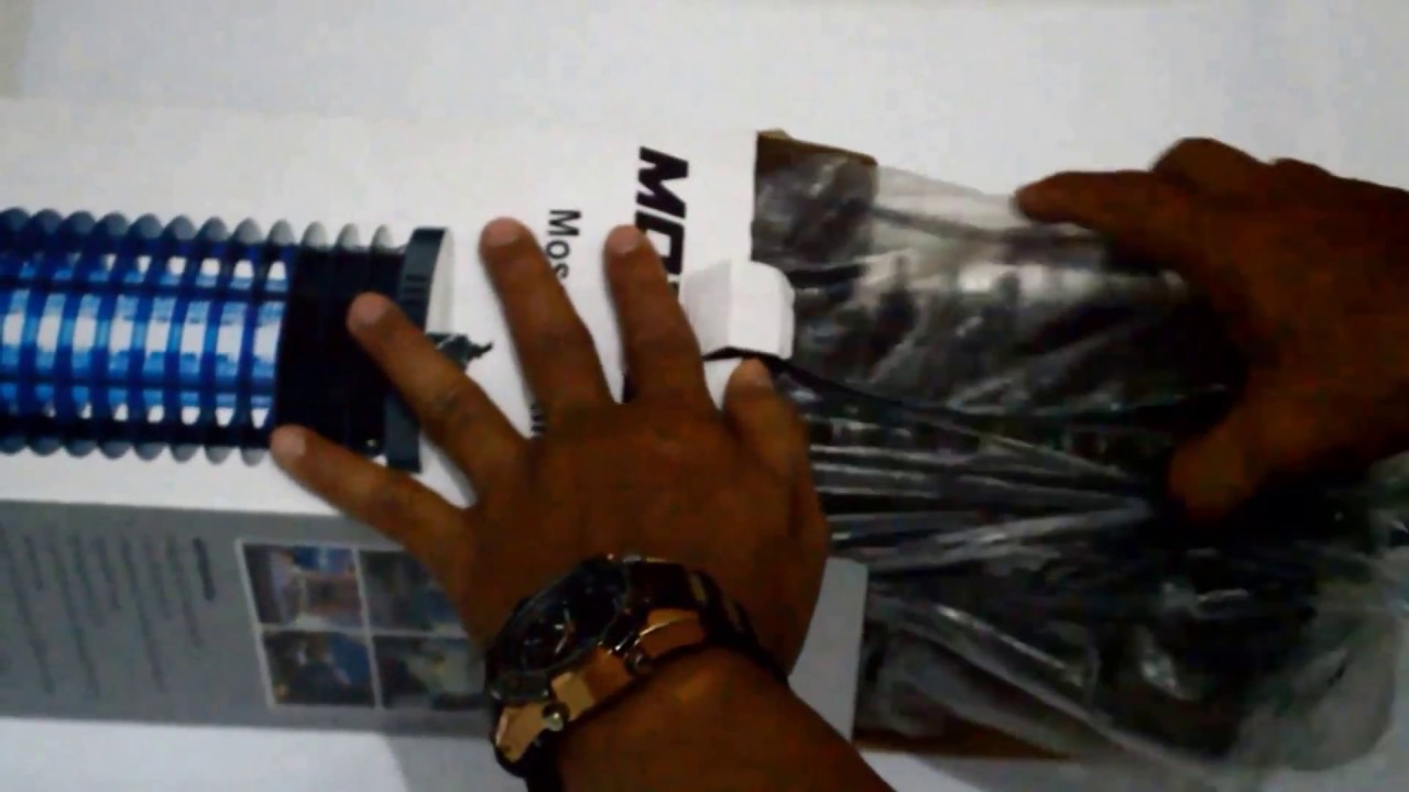 Lampu Perangkap Nyamuk Misterius Youtube Krisbow