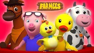 Nursery rhymes for kids | Baby cartoon song videos | Childrens rhyme | Preschool educational video