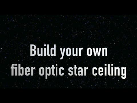 How To Make A Star Ceiling Or Fiber Optic Ceiling. Diy Sky